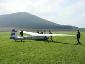 Jungendvergleichsfliegen 2010 in Eschwege